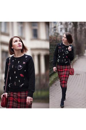 application Zara blouse
