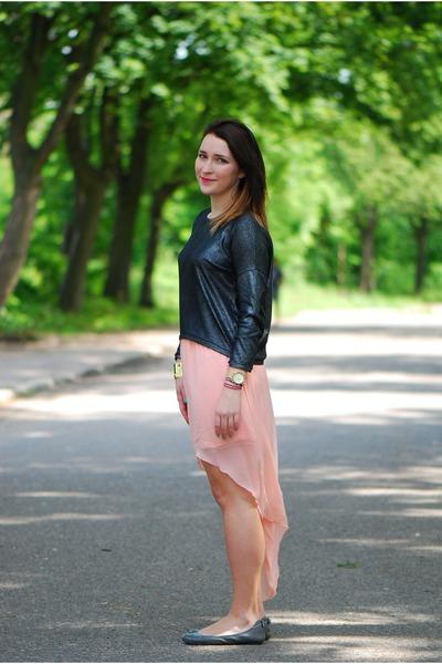 Bershka blouse - New Yorker skirt - calvin klein flats