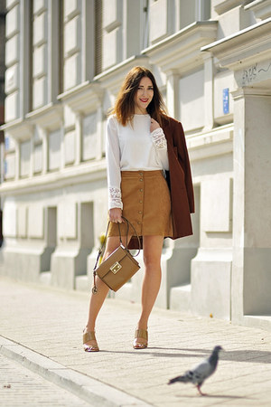 suede skirt new look skirt