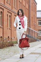 christmas new look blouse - Michael Kors bag