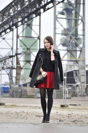 cotton new look coat - leopard print new look bag