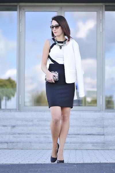 elegant new look dress - boucle Orsay jacket