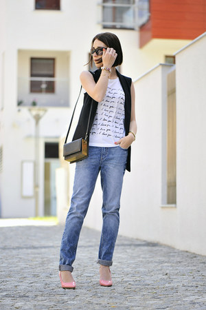 boyfriend jeans new look pants