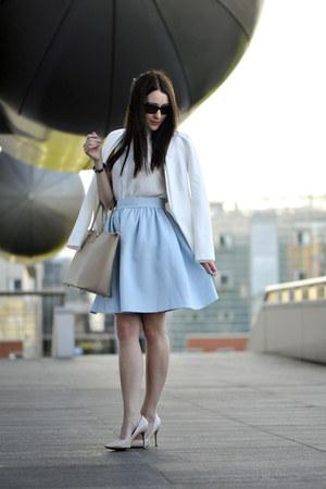 baby blue PresKA skirt