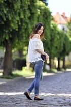 new look blouse - frayed pants Tally Weijl pants