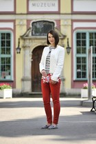 boucle Orsay jacket - Zara pants