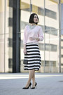 Pleated-skirt-f-f-skirt