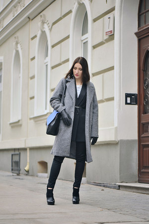 oversized KappAhl coat