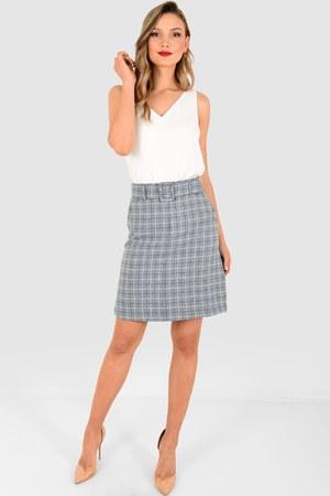 check skirt skirt
