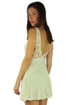 cream HCB dress