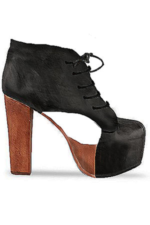 black jeffrey campbell by black moth shoes