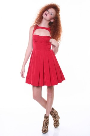 ruby red BB Dakota dress
