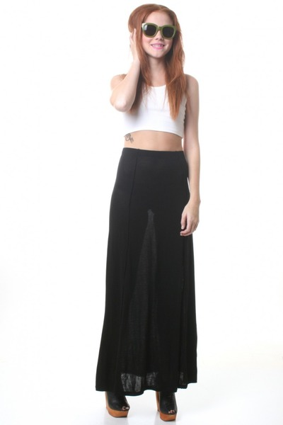 Buy Black Maxi Skirt | Jill Dress