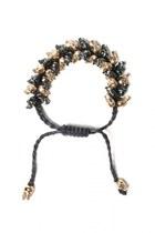 black skull bracelet