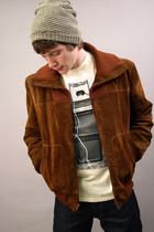 vintage jacket - Altru t-shirt - Kill City jeans
