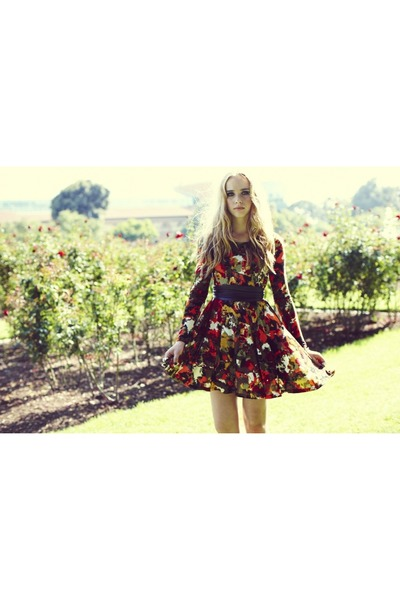 floral Otis & Maclain dress