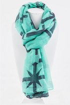 FASHION CROSSES SCARF LITALIA scarf