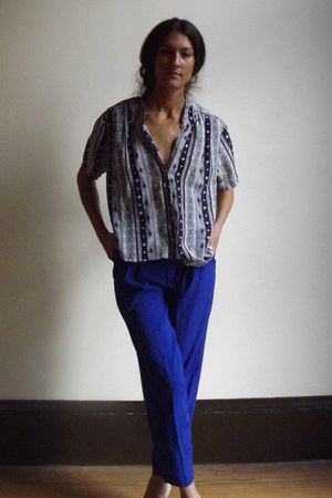 lovely blouse pulse vintage blouse