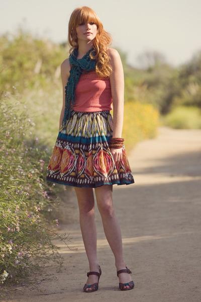 Ruche top - Ruche skirt - Ruche scarf - Ruche shoes