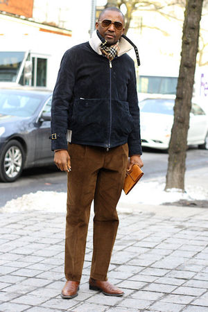 brown Cesare Attolini pants