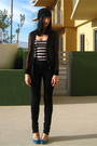 Black-rodarte-for-target-cardigan-black-urban-outfitters-jeans-blue-rocket-d