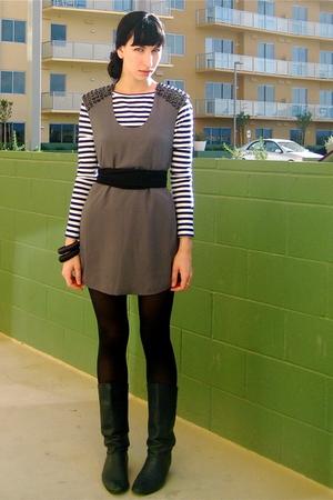 Rodarte for Target t-shirt - gray modcloth dress