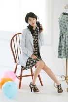 shuagirl dress - shuagirl jacket - shuagirl shoes