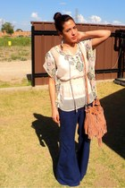 stitch blouse - pants