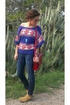 American Eagle sweater - the cambridge satchel company bag