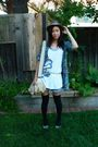Banana-republic-bag-na-blouse-na-socks-forever-21-shirt-forever-21-hat-