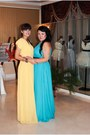 Turquoise-dress-zara-dress-yellow-dress-dress