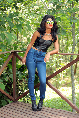 black boots sammydress boots - lime green suglasses Lovely wholesale sunglasses