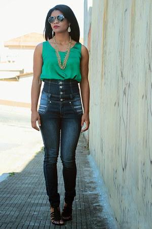 calça Transito livre Jeans jeans - fashion Romwecom t-shirt