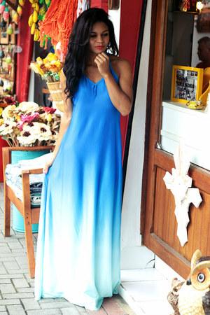 sky blue dress dresslily dress