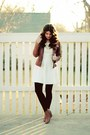 Leather-jacket-white-forever-21-dress-anthropologie-necklace