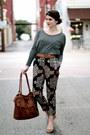 Tribal-riffraff-pants-brown-target-bag-grey-cotton-on-top