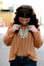 Riffraff-necklace-ruche-sweater-target-pants