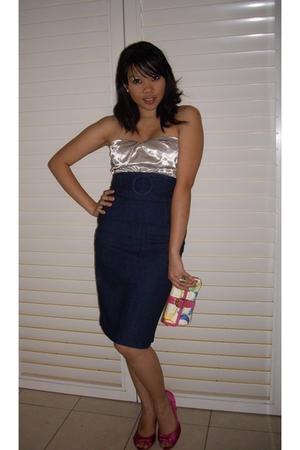 Dotti top - Dotti skirt - RMK shoes - coach purse
