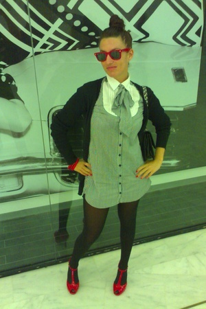 BLANCO shoes - H&M dress - BLANCO purse - ray-ban sunglasses