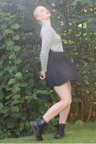 black Monki skirt
