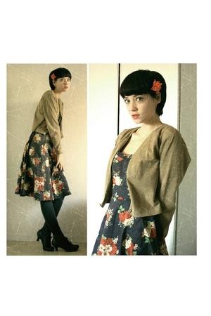 accessories - H&M dress - Din Sko shoes