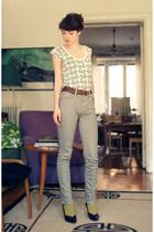 Cheap Monday jeans - t-shirt