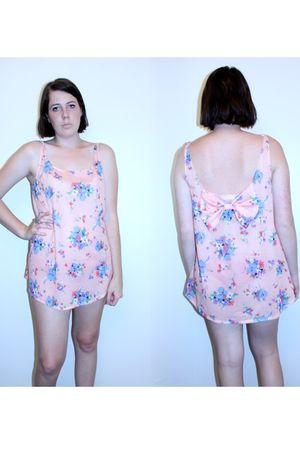 pink handmade DIY dress