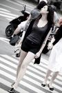 Gray-streetwear-society-top-black-vest-black-streetwear-society-shorts-bla