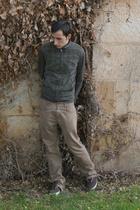pull&bear jacket - Zara pants - vICTORIA shoes