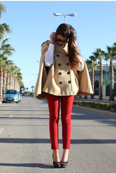 Zara shoes - Tommy Hilfiger coat - Zara pants