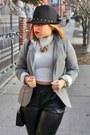 Fedora-forever-21-hat-blazer-blazer
