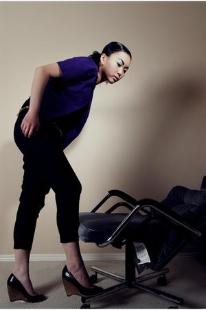 na blazer - Zara pants