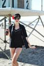 Black-forever-21-sunglasses-black-vintage-swimwear