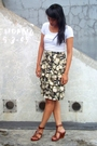 Green-thrifted-jacket-black-thrifted-skirt-white-random-shirt-brown-itc-m2